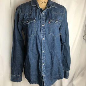 Levi's Western Style Denim Shirt